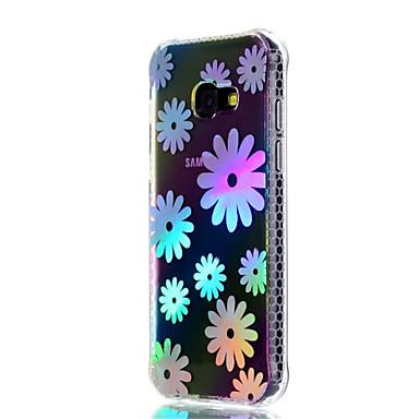 Hülle Für Samsung Galaxy A5(2017) A3(2017) Stoßresistent Beschichtung Durchscheinend Muster Rückseite Blume Weich TPU für A3 (2017) A5
