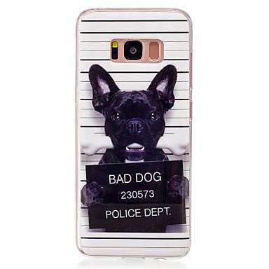 tok Για Samsung Galaxy S8 S7 edge IMD Με σχέδια Πίσω Κάλυμμα Σκύλος Μαλακή TPU για S8 S7 edge S7 S6 edge S6 S5
