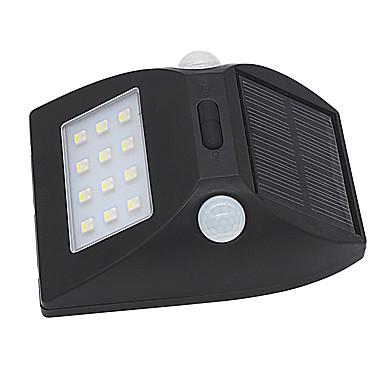 3W Proiectoare LED Senzor cu Infraroșii / Ușor de Instalat / Rezistent la apă Alb Natural / Multicolor Lumina Exterior
