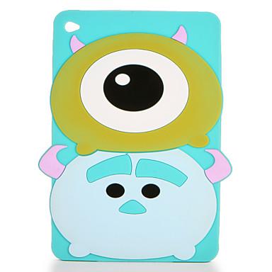 Hülle Für Apple iPad Mini 4 iPad Mini 3/2/1 Muster Rückseite 3D Zeichentrick Weich Silikon für iPad Mini 4 iPad Mini 3/2/1 Apple