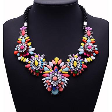 Damskie Naszyjniki z wisiorkami Biżuteria Biżuteria Syntetyczne kamienie szlachetne Stop euroamerykańskiej Modny Biżuteria Na Impreza