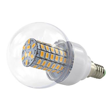 4.5W E14 Bulb LED Glob 69 SMD 5730 420 lm Alb Cald Alb Rece V 1 bc