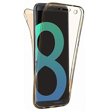 hoesje Voor Samsung Galaxy S8 Plus S8 Ultradun Transparant Volledig hoesje Effen Kleur Zacht TPU voor S8 Plus S8 S7 edge S7 S6 edge S6 S5