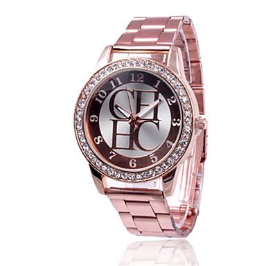 Pentru femei Quartz Ceas de Mână Chineză cald Vânzare Aliaj Bandă Casual Modă Argint Auriu Pink