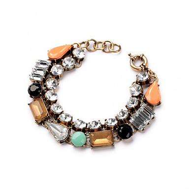 Damskie Bransoletki i łańcuszki na rękę Biżuteria Przyjaźń Modny Stop Geometric Shape Biżuteria Na Urodziny