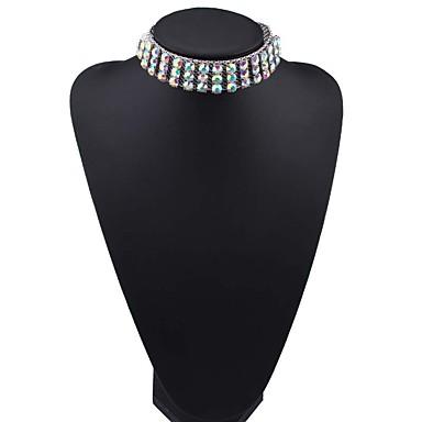 Kadın's Gerdanlıklar Mücevher Mücevher Değerli Taş alaşım Moda Euramerican Mücevher Uyumluluk Parti
