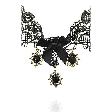 Damen Kronenform Oval Klassisch Modisch T¨¹rkisch Halsketten Spitze Halsketten . Hochzeit Party Besondere Anlässe Jahrestag Geburtstag