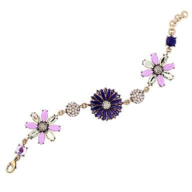 Dames Armbanden met ketting en sluiting Vriendschap Modieus Legering Bloemvorm Sieraden Voor