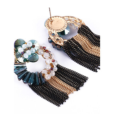 Γυναικεία Κουμπωτά Σκουλαρίκια Κρυστάλλινο Εξατομικευόμενο Μοναδικό Euramerican Κράμα Κοσμήματα Για Γάμου Πάρτι