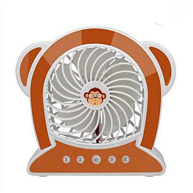 Yy wg16-m10 usb mini fan meng maymun mini fan şarj edilebilir küçük fan şarj edilebilir mini fan usb karikatür masaüstü