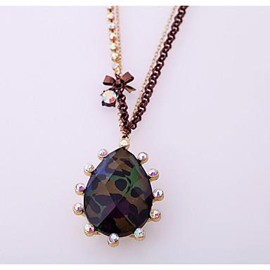 Damskie Naszyjniki z wisiorkami Kryształ Modny Osobiste Słodkie Style euroamerykańskiej Biżuteria Na Ślub Impreza
