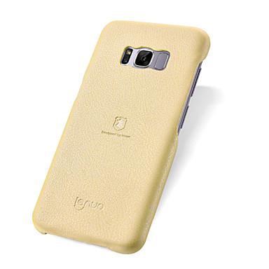 غطاء من أجل Samsung Galaxy S8 Plus S8 ضد الصدمات نحيف جداً غطاء خلفي لون الصلبة ناعم جلد PU إلى S8 Plus S8