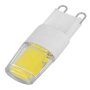 G9 أضواء LED Bi Pin 200-240 المصابيح COB أبيض كول 200-240lm 3000/6500K AC 220-240V