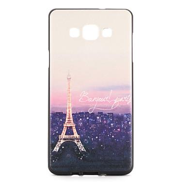 Pouzdro Uyumluluk Samsung Galaxy Temalı Arka Kapak Eiffel Kulesi Yumuşak TPU için A7 A5