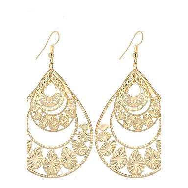 Gold Plated, Earrings, Search MiniInTheBox