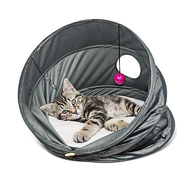 Kat bedden Huisdieren manden Effen Vouwbaar Ademend Grijs Voor huisdieren