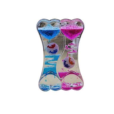 Hourglass ألعاب لهو بلاستيك للأطفال للجنسين قطع