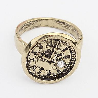 Damen Bandringe Ring Schmuck Personalisiert Einzigartiges Design Logo Stil Klassisch Retro Böhmische Grundlegend Simple Style Langlebig
