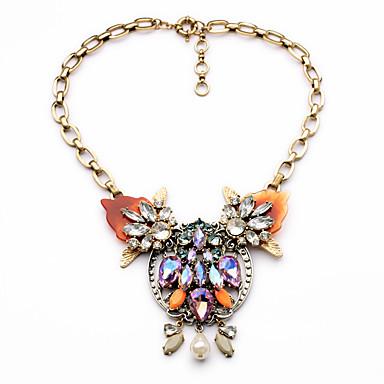 Damskie Łańcuszki na szyję Kryształ Modny Godny podziwu Osobiste Słodkie Style euroamerykańskiej Rainbow Biżuteria Na Ślub Impreza 1szt