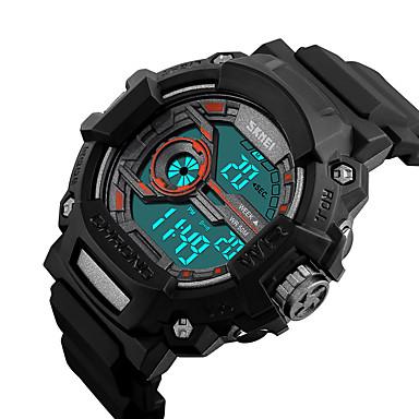 Slim horloge Waterbestendig Lange stand-by Multifunctioneel Timer Stopwatch Wekker Chronograaf Kalender IR Geen Sim Card Slot