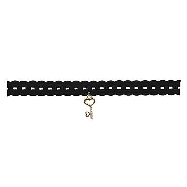 Damen Anderen Personalisiert Grundlegend Modisch Einstellbar nette Art Euramerican Simple Style USA Halsketten Schmuck Spitze Aleación