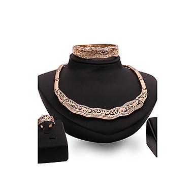 Pentru femei Seturi de bijuterii Ștras Personalizat Vintage Bijuterii Statement Modă Euramerican Nuntă Petrecere Ocazie specială Ștras