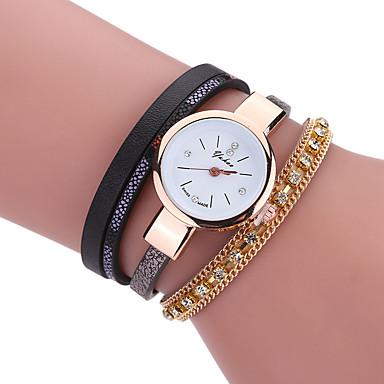 pentru Doamne Ceas La Modă Ceas Brățară Ceas Casual Quartz Material Bandă Charm Cool Casual Creative Luxos Elegant Negru Alb MaroAlb