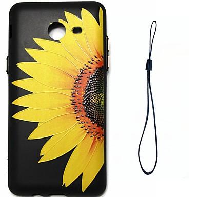 غطاء من أجل Samsung Galaxy J7 (2016) J5 (2016) تصفيح نموذج غطاء خلفي زهور ناعم TPU إلى J7 (2016) J7 J5 (2016) J5 J3 J3 (2016)