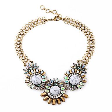 Pentru femei Toroane Coliere Flower Shape Personalizat bijuterii de lux Alb Bijuterii Pentru Nuntă 1 buc