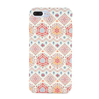 hoesje Voor Apple iPhone 7 Plus iPhone 7 Patroon Achterkant Geometrisch patroon Hard PC voor iPhone 7 Plus iPhone 7 iPhone 6s Plus iPhone
