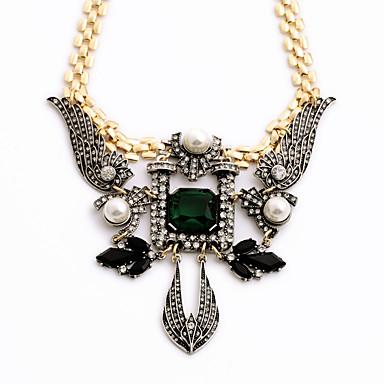 Damskie Pasemka Naszyjniki Geometric Shape Unikalny euroamerykańskiej Biżuteria Na Casual Prezenty bożonarodzeniowe