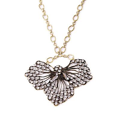 Kadın's Uçlu Kolyeler Kristal Eşsiz Tasarım Moda Kişiselleştirilmiş Euramerican Bronz Mücevher Için Düğün Parti 1pc