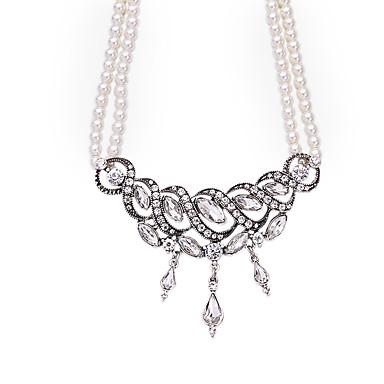 Kadın's Tellerinin Kolye Kristal Çok güzel Kişiselleştirilmiş sevimli Stil Euramerican Mücevher Uyumluluk Düğün Parti