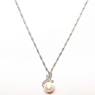 Pentru femei Perle Plastic Coliere cu Pandativ - Perle Plastic Design Unic Stil Atârnat Coliere Pentru Cadouri de Crăciun Zi de Naștere