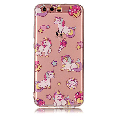 Pentru huawei p8 lite (2017) p10 liti tpu material imd proces unicorn model telefon caz p10 p9 lite p8 lite