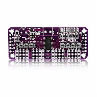 Pca9685 16-ch 12-bit fmi2c bus pwm controller voor frambozenpi