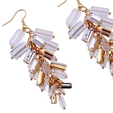 Σκουλαρίκια Σετ Κρυστάλλινο Μοντέρνα Λατρευτός Εξατομικευόμενο Euramerican Κράμα Λευκό Κοσμήματα Για Γάμου Πάρτι Γενέθλια 1 ζευγάρι