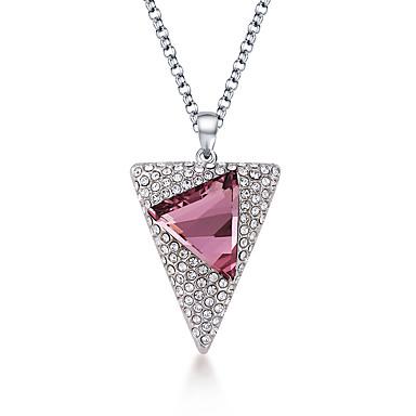 Dames Hangertjes ketting Sieraden Geometrische vorm Sieraden Kristal Strass Legering Uniek ontwerp Modieus Euramerican Sieraden Voor