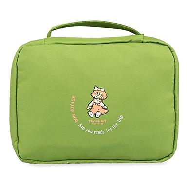 حقيبة معلقة لأدوات التجميل حقيبة أدوات تجميل للسفر حقيبة مستحضرات التجميل منظم أغراض السفر المحمول متعددة الوظائف تخزين السفر إلى ملابس