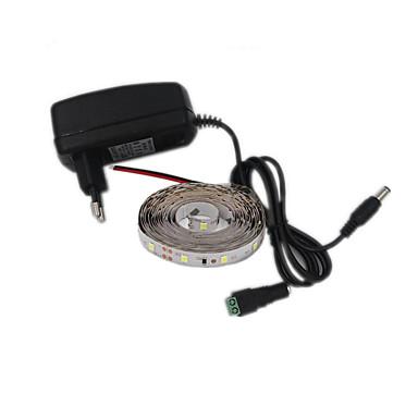 12W Ευέλικτες LED Φωτολωρίδες 300 lm DC12 V 5 m 300 leds Θερμό Λευκό Λευκό Κόκκινο Μπλε Πράσινο