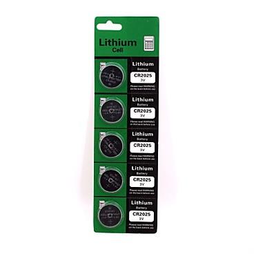 litiu celulă buton baterie litiu de înaltă calitate cr2025 3v