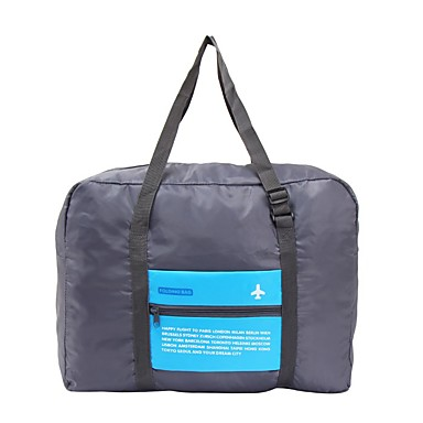 حقيبة السفر منظم أغراض السفر المحمول قابلة للطى سعة كبيرة تخزين السفر إلى ملابس نايلون /