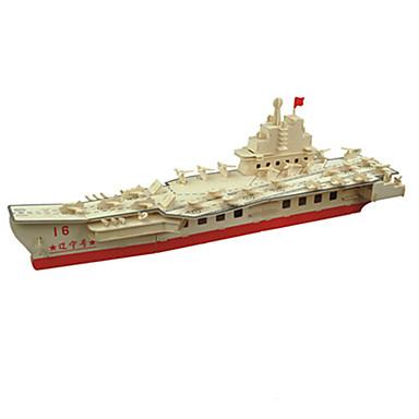 قطع تركيب3D سفينة لهو خشب كلاسيكي