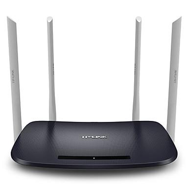 billige Netværk-tp-link dual-band trådløs router wifi gennem væg tplink hjem 5g højhastighed intelligent tl-wdr6300 1200mbps 11ac dual band wifi router app aktiveret