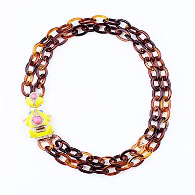 Pentru femei Toroane Coliere Circle Shape Design Unic Euramerican Bijuterii Pentru Casual Cadouri de Crăciun