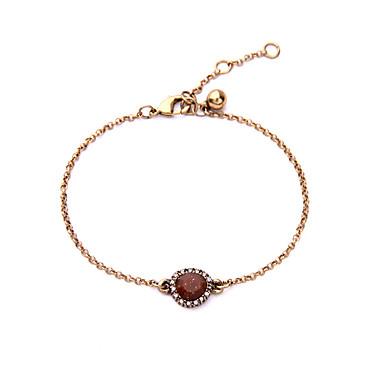 Damskie Bransoletki i łańcuszki na rękę Biżuteria Przyjaźń luksusowa biżuteria Stop Geometric Shape Czerwony Biżuteria Na Impreza Urodziny