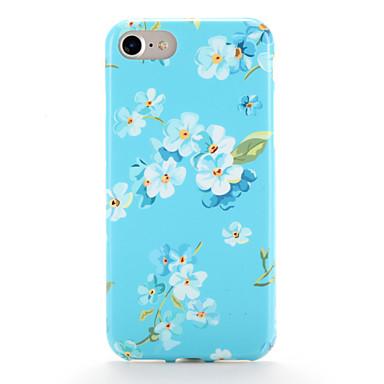 Etui Käyttötarkoitus Apple iPhone 7 Plus iPhone 7 Kuvio Takakuori Kukka Pehmeä TPU varten iPhone 7 Plus iPhone 7 iPhone 6s Plus iPhone 6s