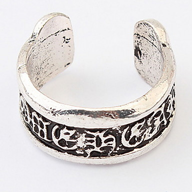 Bărbați Pentru femei manşetă Ring Inel Band Ring Bijuterii Personalizat Design Unic Stil Logo Clasic Vintage Boem De Bază Prietenie