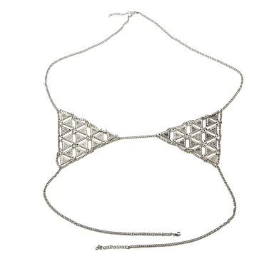 Pentru femei Corp lanț / burtă lanț Aliaj Boem Bijuterii de corp Pentru Casual Costum de bijuterii Auriu Argintiu