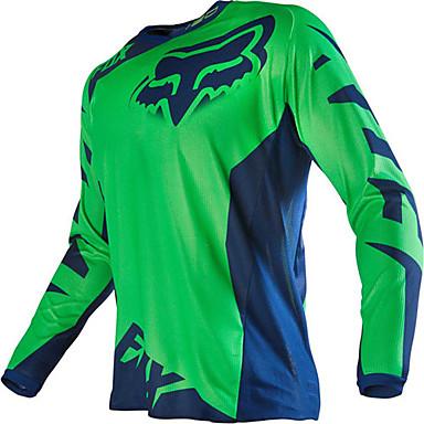 Недорогие Аксессуары для мотоциклов и квадроциклов-Fox мотоцикл off-road t-shirt с длинными рукавами верховая езда скорость off вне спортивная повседневная одежда